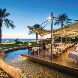 Al Fresco Dining At Athena Beach Hotel